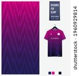 soccer jersey pattern design.... | Shutterstock .eps vector #1960929814
