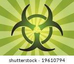 biohazard sign  warning alert... | Shutterstock .eps vector #19610794