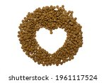 Dry Food For Cats And Dogs On A ...