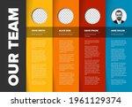company team presentation...   Shutterstock .eps vector #1961129374