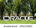 redwood city  ca usa   may 31 ... | Shutterstock . vector #196115081