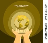 world intellectual property day ... | Shutterstock .eps vector #1961183224