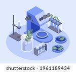 biotechnology concept. biology  ...   Shutterstock .eps vector #1961189434
