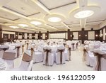 wedding hall or other function... | Shutterstock . vector #196122059