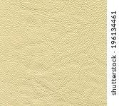 cream leather texture | Shutterstock . vector #196134461