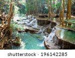 Waterfall At Erawan National...