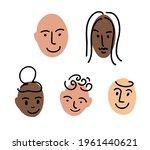 family portrait. doodle avatar... | Shutterstock .eps vector #1961440621