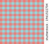 easter tartan plaid. scottish...   Shutterstock .eps vector #1961522704