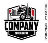 semi truck company logo. 18...   Shutterstock .eps vector #1961554201