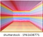 Colored Lines In A Horizontal...