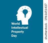 world intellectual property day ... | Shutterstock .eps vector #1961651437