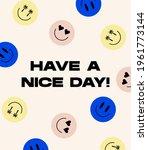 vector emojies sticker pack.... | Shutterstock .eps vector #1961773144