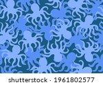 Color Raster Image. Sea Pattern....