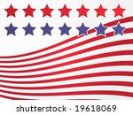 stars and stripes illustration... | Shutterstock .eps vector #19618069