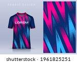 fabric textile design for sport ... | Shutterstock .eps vector #1961825251