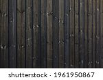 Texture Of Dark Barn Wall Made...