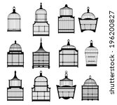 Silhouette Birdcages Collection ...