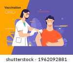 vector illustration depicting a ... | Shutterstock .eps vector #1962092881