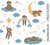 Pattern Of Sloths In The Sky...