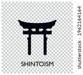 world religion symbols. signs... | Shutterstock .eps vector #1962164164