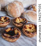 Small photo of Portugues Pasteis de Nada and other baked goods from a bakery