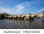 Scenic View On Prague Old Town...