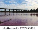 Pink Lake Westgate Park  ...
