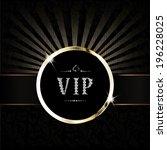 vip background | Shutterstock .eps vector #196228025