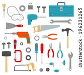 tool and hardware clip art