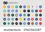 cryptocurrency or crypto coins... | Shutterstock .eps vector #1962362287