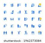 business management icons set... | Shutterstock .eps vector #1962373084