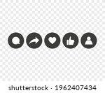 thumb up  like  heart  repost ...   Shutterstock .eps vector #1962407434