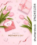 mother's day poster or banner... | Shutterstock .eps vector #1962451354
