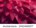 abstract 3d render  red... | Shutterstock . vector #1962460057