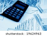 business accessories on a... | Shutterstock . vector #19624963