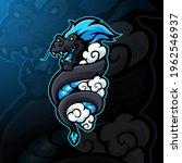 dragon mascot logo design... | Shutterstock .eps vector #1962546937