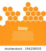 Abstract Hexagonal Honeycomb...