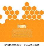 Abstract Hexagonal Honeycomb...