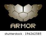 hard armor   Shutterstock .eps vector #196262585