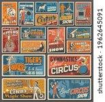 Circus Funfair Carnival Retro...