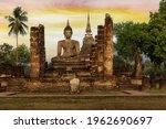 Wat Mahathat Temple At...