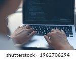 coding programmer  software...   Shutterstock . vector #1962706294