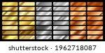 gold  silver  bronze and golden ... | Shutterstock .eps vector #1962718087
