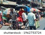 Kolkata  04 24 2021  An Aged...