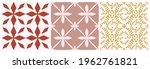 tile seamless pattern set....   Shutterstock .eps vector #1962761821