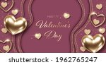 valentines day background with... | Shutterstock .eps vector #1962765247