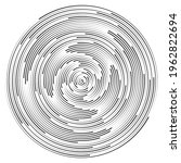 Abstract Circle Background With ...