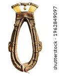 Antique Dutch Ornamental Horse...