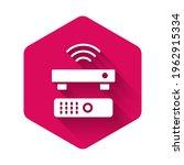 white wireless multimedia and... | Shutterstock .eps vector #1962915334