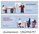 brainstorming and business... | Shutterstock .eps vector #1962956797